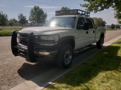 2001 Chevrolet Silverado 2500 Crew // Diesel // 4x4