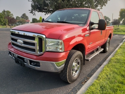 2005 Ford F250 SD Lariat 8 ft