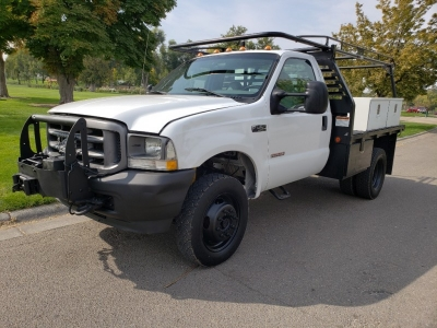 2004 Ford F450 SD Regular Cab & Chassis // LoWer MiLeS // Manual // 2dr // 4X4 // DieSel // WoRk TrU