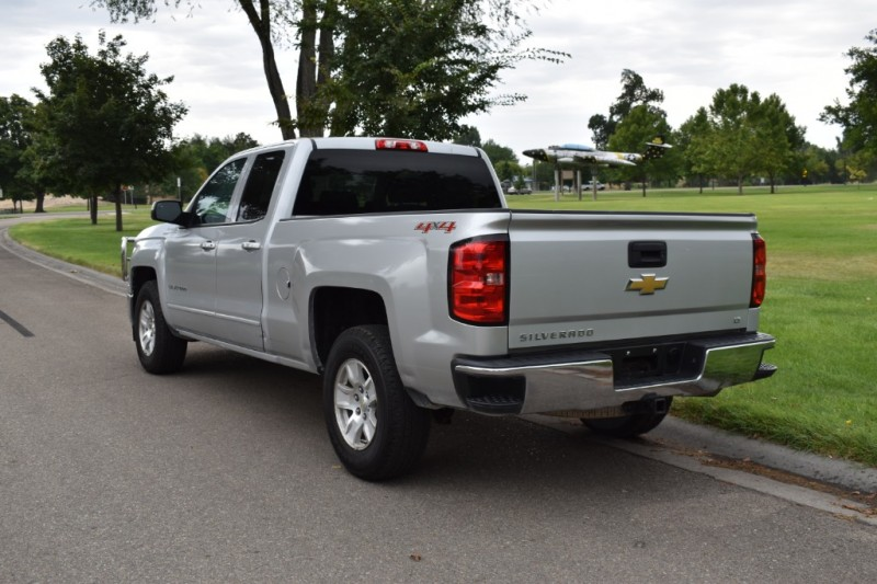2015 Chevrolet Silverado 1500 Double Cab >> 2015 Chevrolet Silverado 1500 Double Cab Lt Pickup 4d 6 1 2 Ft