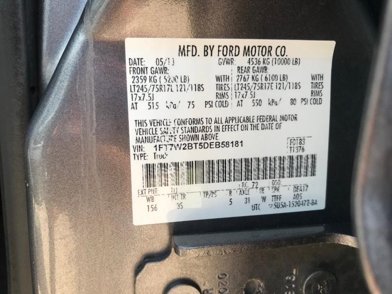 Ford Super Duty F-250 SRW 2013 price $19,995