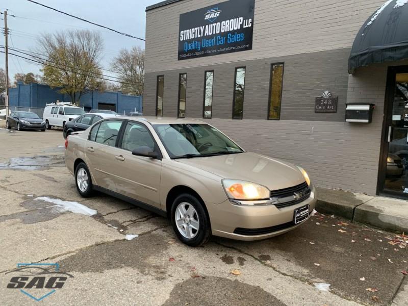 Chevrolet MALIBU 2005 price $4,250