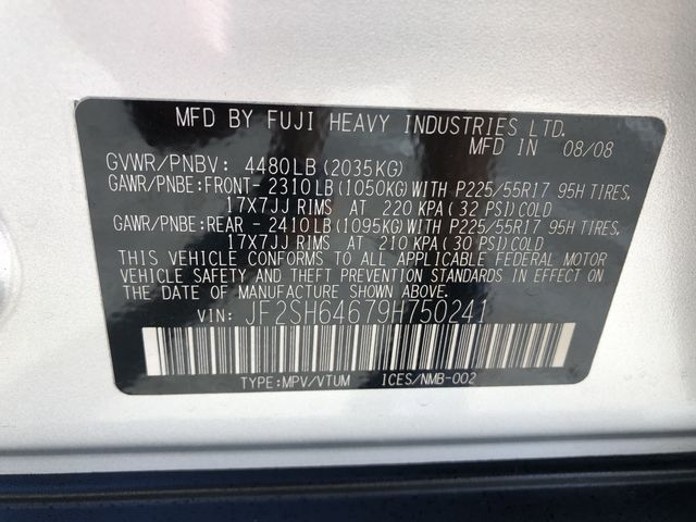 Subaru Forester 2009 price $9,993