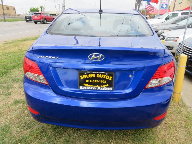 Hyundai Accent 2013 price $6,800