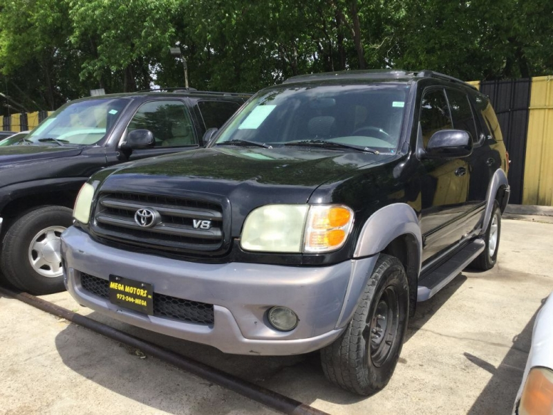 Toyota SEQUOIA 2002 price $325 Down