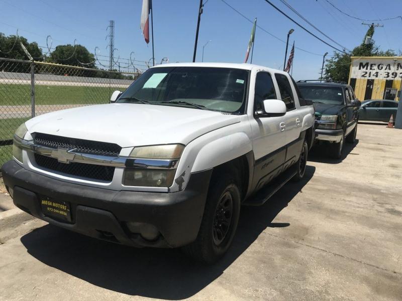 Chevrolet AVALANCHE 2002 price $525 Down