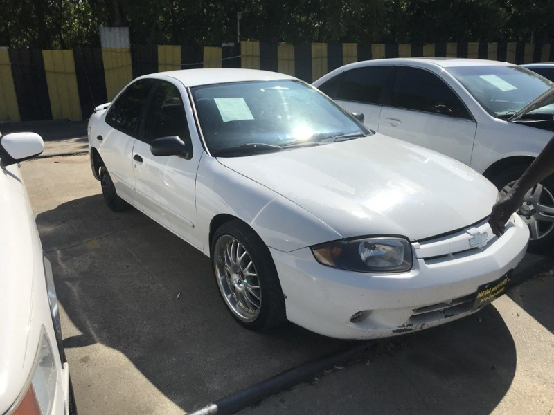 Chevrolet CAVALIER 2003 price $299 Down