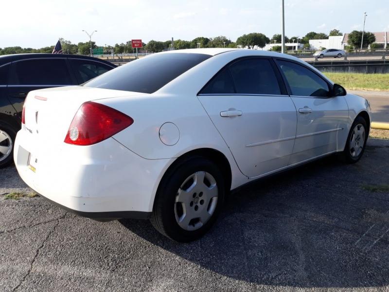 Pontiac G6 2006 price $525 Down