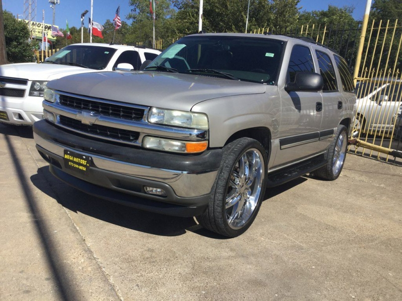 Chevrolet TAHOE 2005 price $1,525 Down
