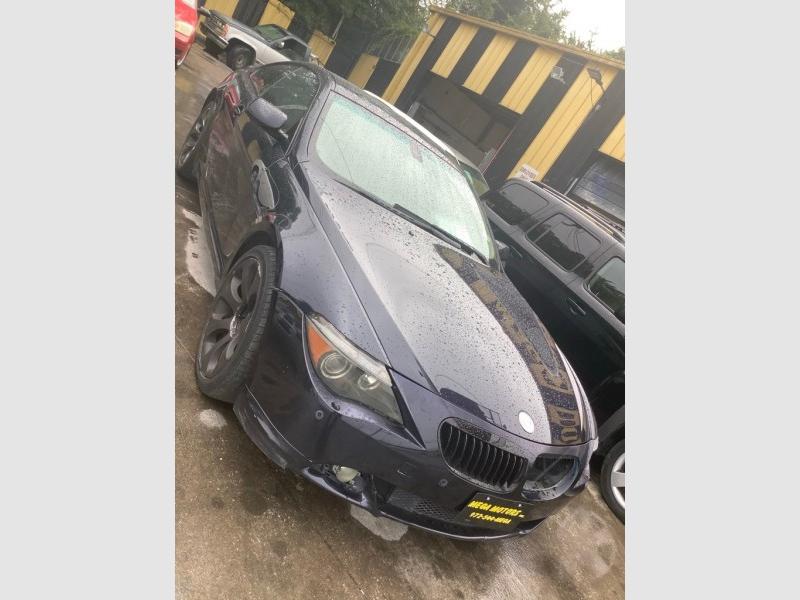 BMW 650 2006 price $2,525
