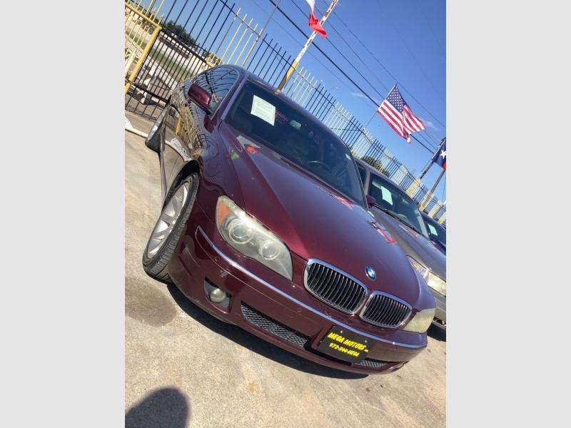 BMW 750 2006 price $2,025