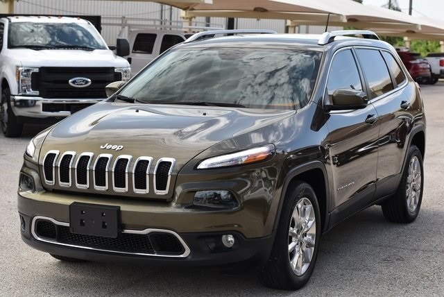 Jeep Cherokee 2015 price $12,548