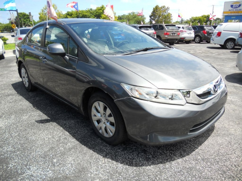 HONDA CIVIC 2012 price $7,949