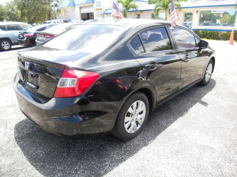 HONDA CIVIC 2012 price $6,900