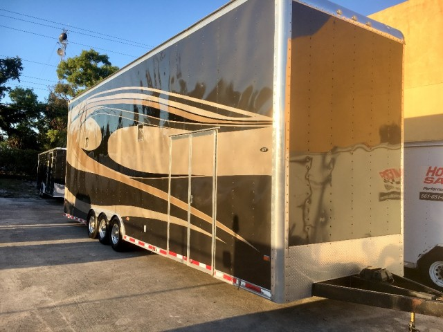 2009 Classic Industries GT 32ft Stacker Trailer -