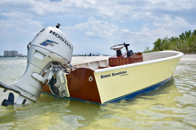 2014 WORLD FAMOUS BIMINI BONEFISHER BY ANSIL SAUNDERS