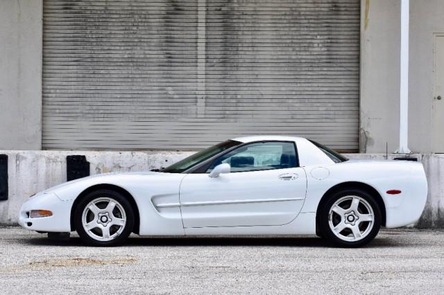 1999 Chevrolet Corvette FRC ARTIC WHITE