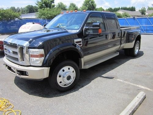 2008 Ford Super-Duty F450 KING RANCH 4WD CREW CAB