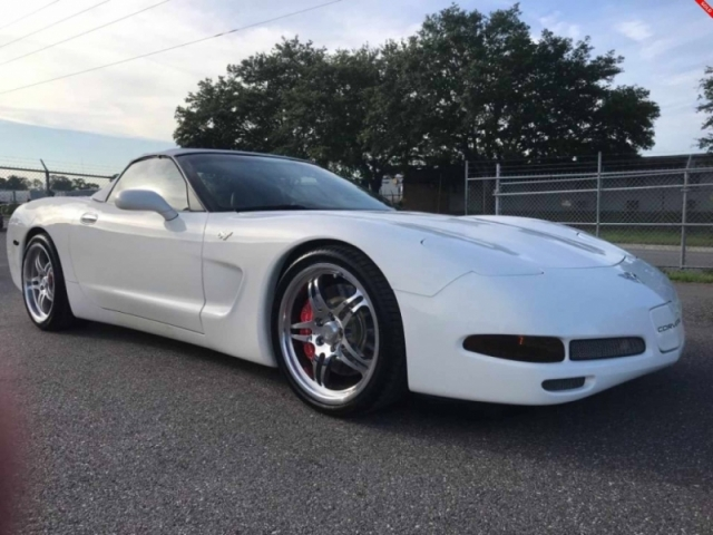 2003 Chevrolet Corvette Convertible SUPERCHARGED CUSTOM