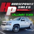 Chevrolet AVALANCHE CALLAWAY SC450 2013