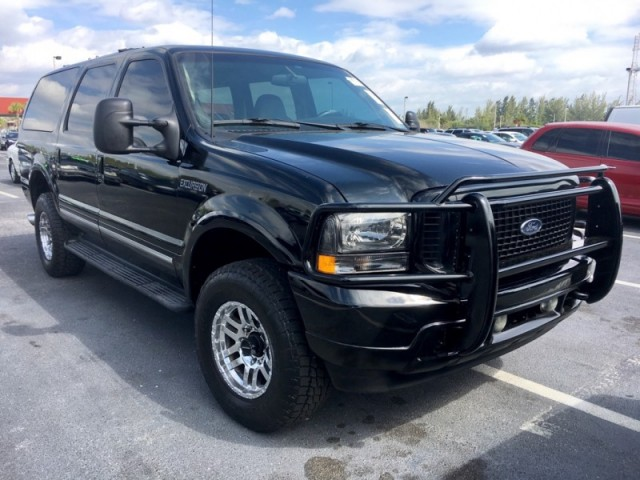Ford Excursion L DIESEL Limited WD Horsepower Sales Of - 2002 excursion