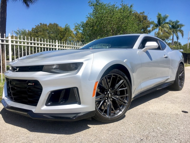 2017 Chevrolet Camaro Zl1 Headers Pulley 750hp