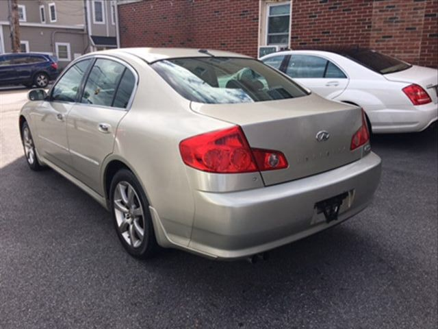 INFINITI G 2005 price $4,450