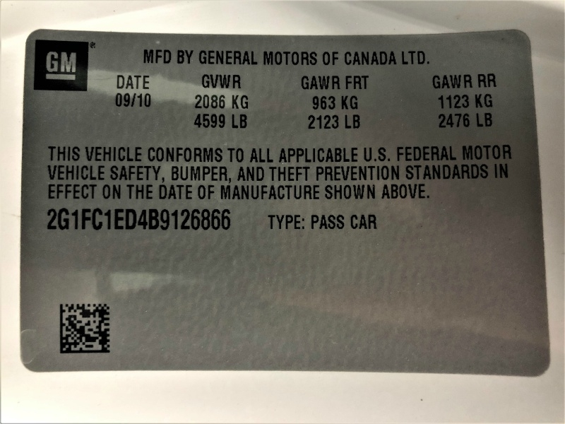 Chevrolet Camaro 2011 price $11,850