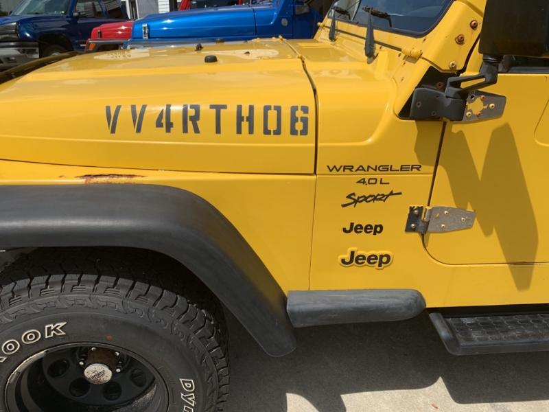 Jeep TJ 2001 price $7,194