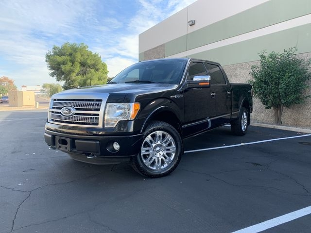 F150 Supercrew Cab >> 2012 Ford F150 Supercrew Cab Platinum Pickup 4d 6 1 2 Ft