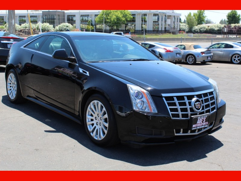 Cadillac CTS Coupe 2012 price $12,999