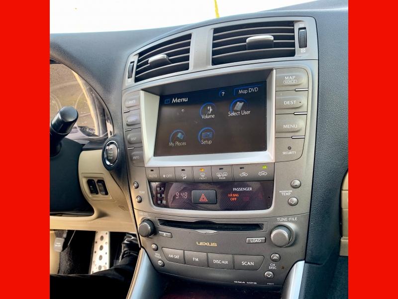 Lexus IS 250 2008 price $10,500