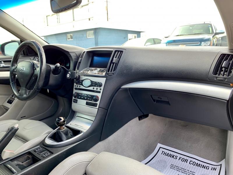 Infiniti G Coupe 2008 price $11,999