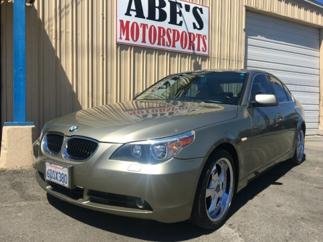 Worksheet. 2005 BMW 5 Series 530i GOLD SUPER CLEAN AUTOMATIC  Inventory