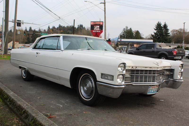 Cadillac DeVille 1966 price $7,995