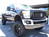 Ford F-250 diesel 4WD Lifted lariat 2012