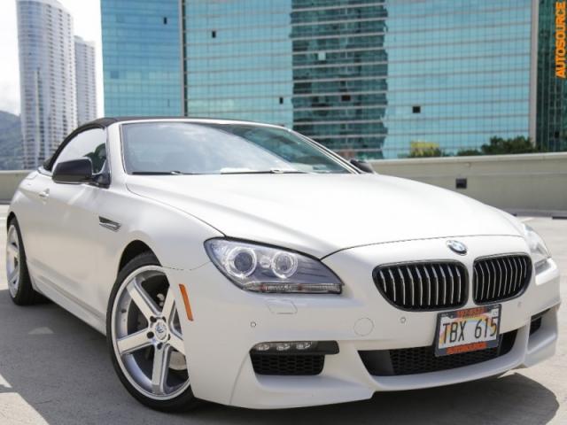 2014 BMW 650xi frozen brilliant white edition