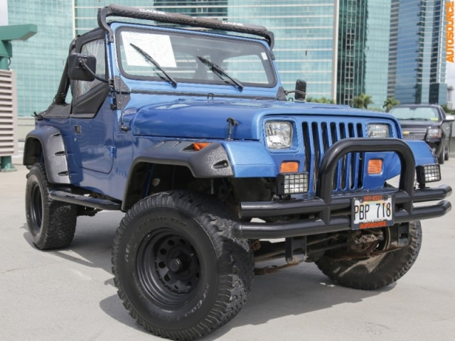 1990 Jeep Wrangler (Manual)