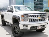 Chevrolet LIFTED 4WD SILVERADO DOUBLE CAB 2014