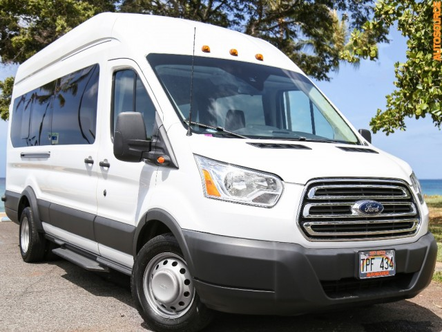 2016 Ford TRANSIT DIESEL 15-PASS HIGH TOP 170 XLT
