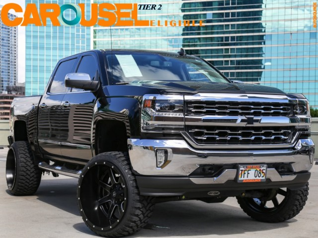 2017 Chevrolet AWD Silverado (6 inches Lifted)