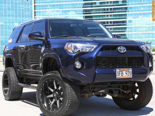 2014 Toyota 4Runner 6  LIFT w/3rd Row