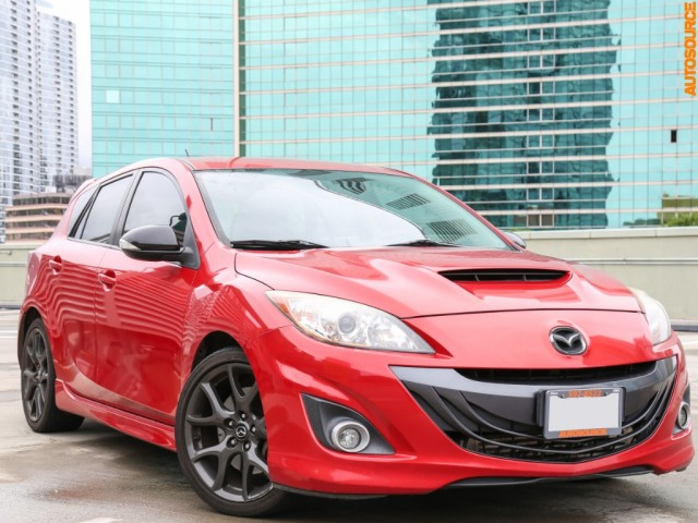 2013 Mazda Mazdaspeed 3 (Manual)
