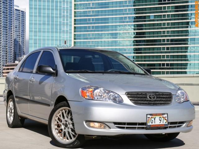 2007 Toyota Corolla (Manual)