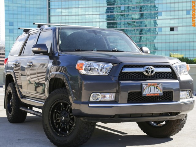 2012 Toyota LIFTED 3RD ROW 4RUNNER