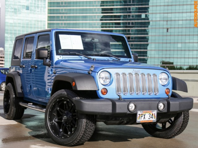 2010 Jeep Wrangler Unlimited 4WD Sport