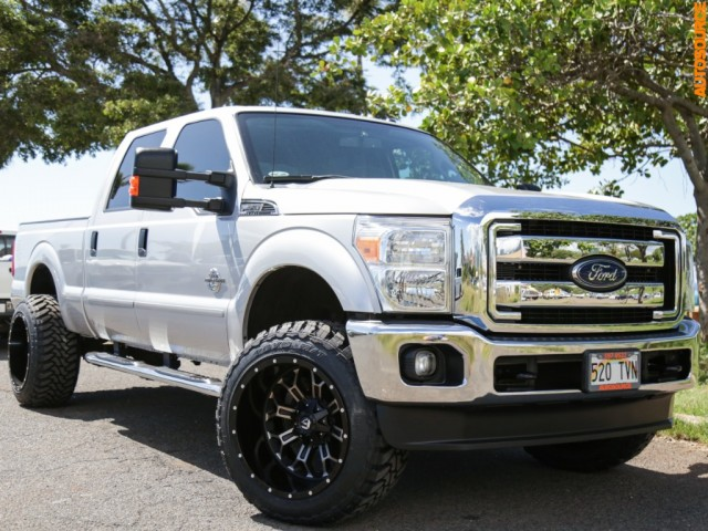 2015 Ford LIFTED DIESEL 4WD F350