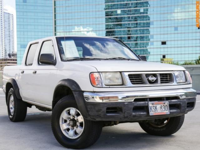 2000 Nissan 4WD Frontier Crewcab