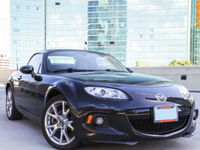 2015 Mazda MX-5 Miata Hard-top Convertible