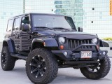Jeep 4WD Wrangler Lifted Unlimited Sahara 2008
